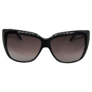 New Eason Black Gray Oversize Cat Eye Sunglasses